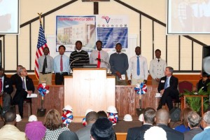 St. Leo Boys Choir SIngs